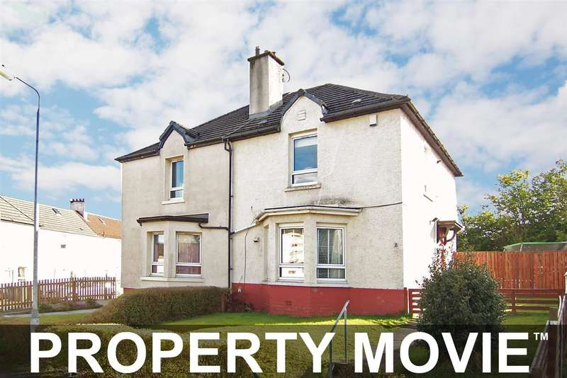 2 Bedrooms Semi Detached House for sale in 7 Cowdenhill Circus, Knightswood, Glasgow, G13 6NR