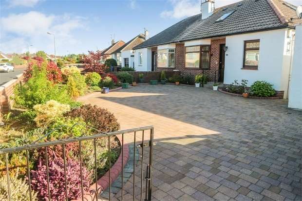 2 Bedrooms Semi Detached Bungalow for sale in Taybank Drive, Ayr
