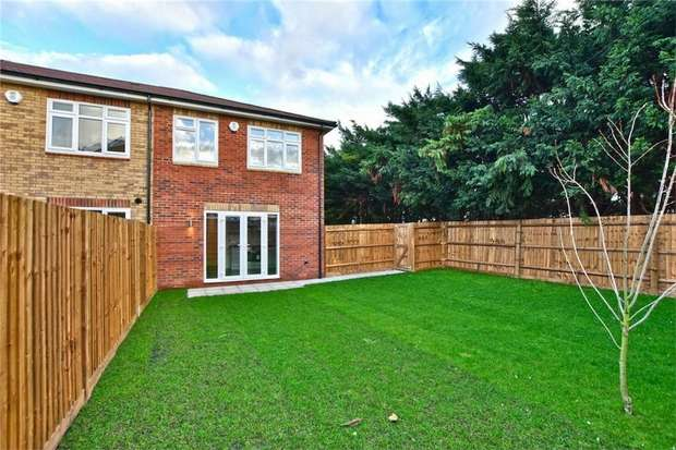 3 Bedrooms End Of Terrace House for sale in THREE BEDROOM END TERRACE, NEW HOME, Iver, Buckinghamshire