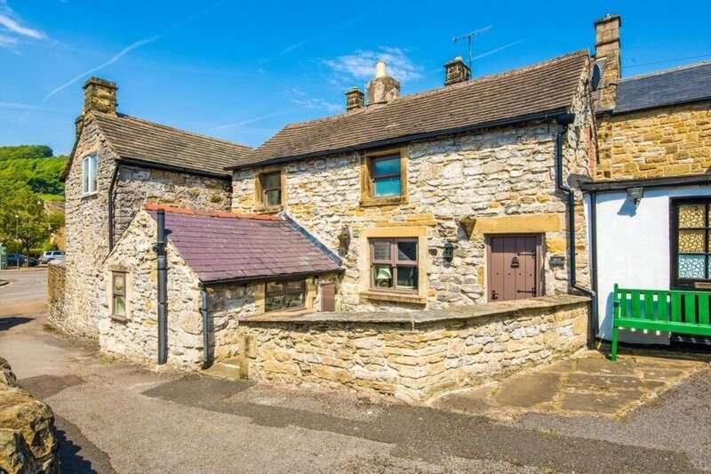2 Bedrooms Semi Detached House for sale in Beck Cottage, Dooley Fold, Lydgate, Hope Valley, S32 5QU.