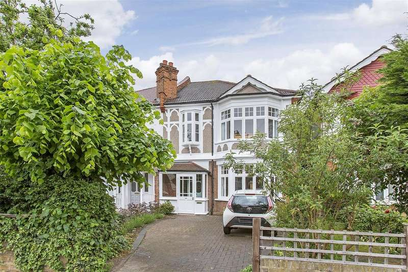 4 Bedrooms Semi Detached House for sale in Queens Road, Wimbledon