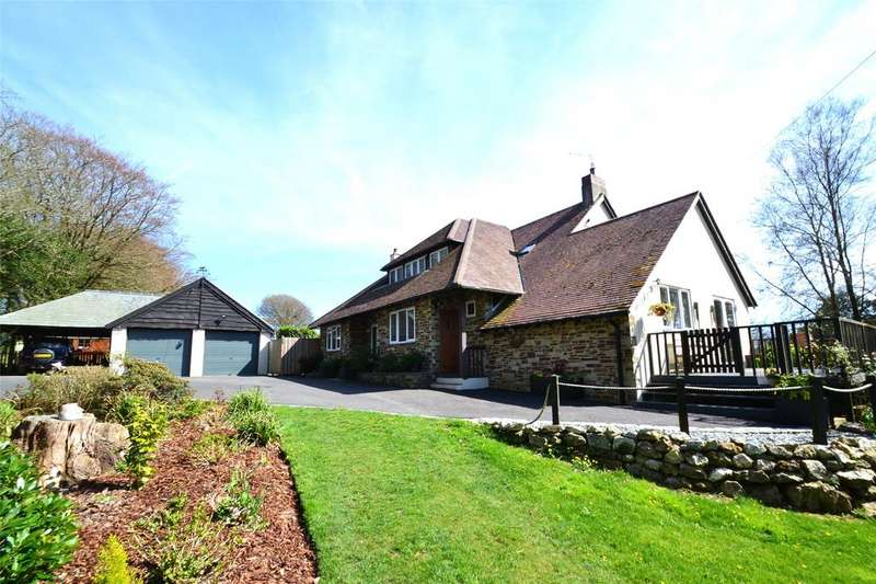 4 Bedrooms Detached House for sale in St Winnow, Lostwithiel