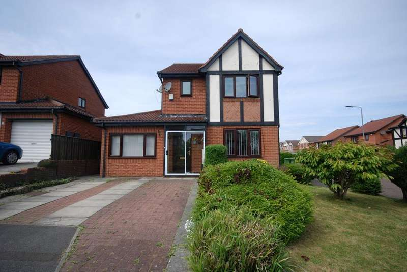 3 Bedrooms Detached House for sale in Fountains Close, Lobley Hill
