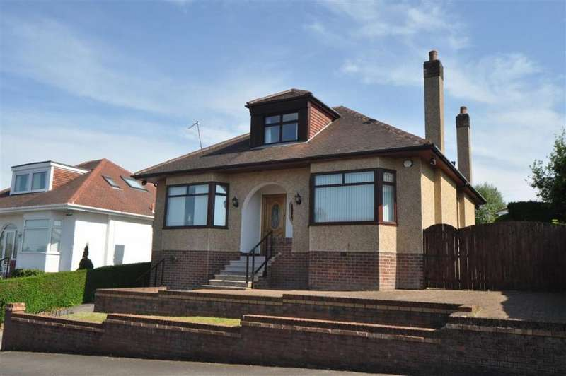 4 Bedrooms Detached Bungalow for sale in 18 Muirhill Avenue, Muirend, G44 3HR