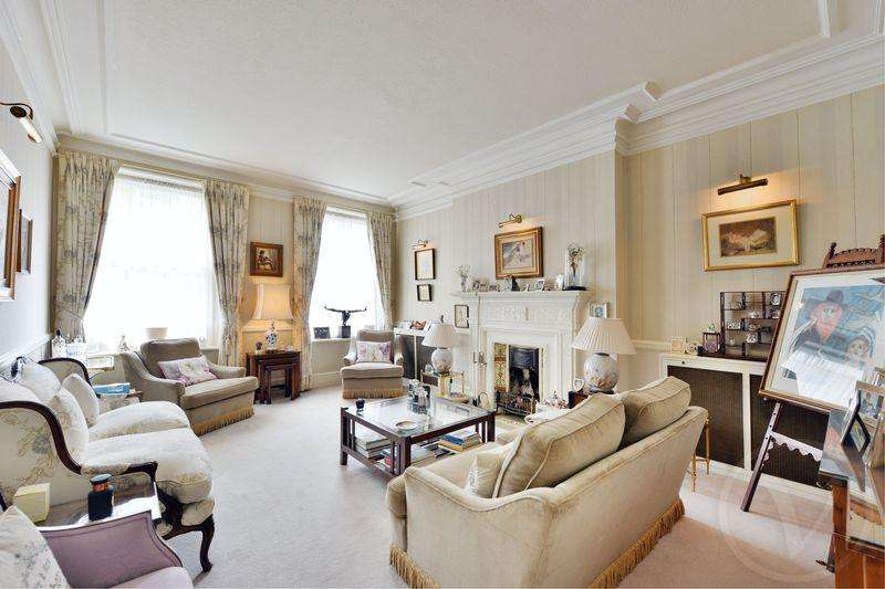4 Bedrooms Apartment Flat for sale in Marlborough Mansions, Cannon Hill, West Hampstead, London, NW6