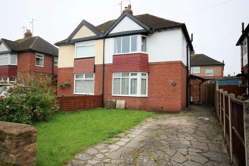 3 Bedrooms Semi Detached House for sale in Garrick Avenue, Hereford, HR2