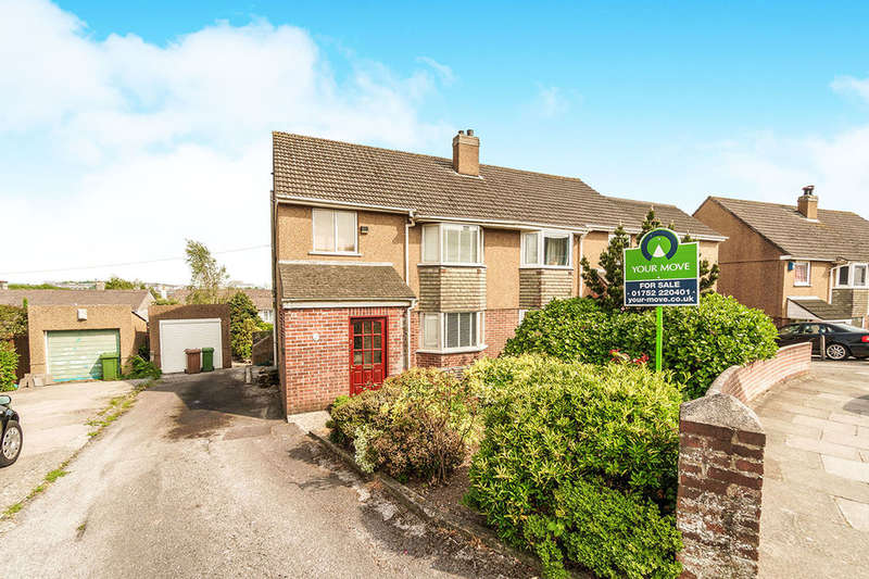 3 Bedrooms Semi Detached House for sale in Raynham Road, Plymouth, PL3