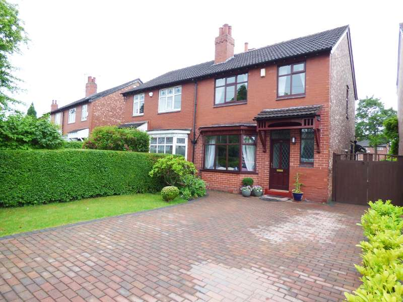 3 Bedrooms Semi Detached House for sale in Dialstone Lane, Great Moor, Stockport, SK2