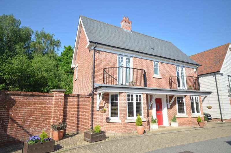 4 Bedrooms Detached House for sale in Pattinson Walk, Great Horkesley, CO6 4EB
