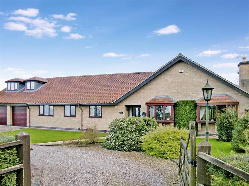 4 Bedrooms Detached Bungalow for sale in Rectory Lane, Barrowby, Grantham