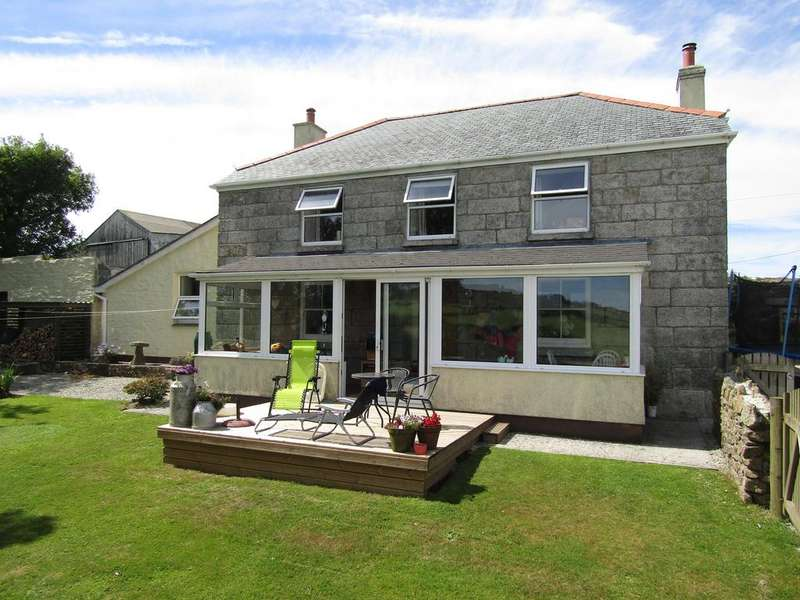 4 Bedrooms Farm House Character Property for sale in Trewince Farmhouse Land near Stithians TR3