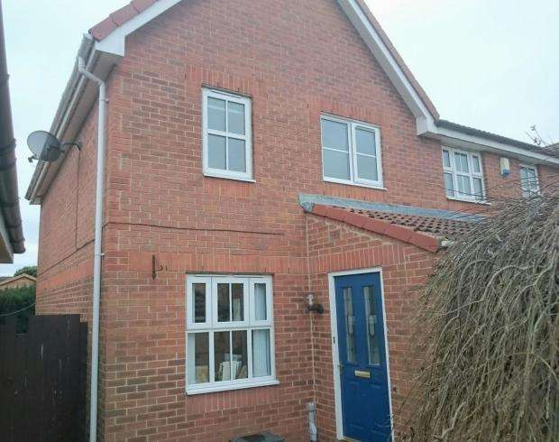 3 Bedrooms Semi Detached House for sale in Chestnut Court Toft Hill Bishop Auckland