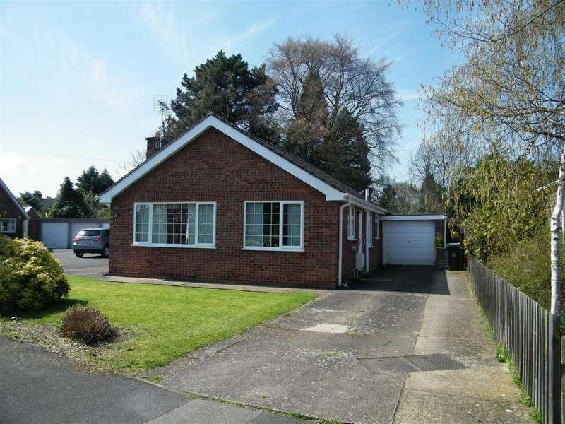3 Bedrooms Detached Bungalow for sale in Lodge Way, Grantham