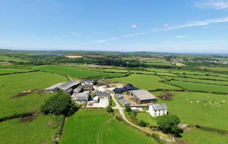 9 Bedrooms Unique Property for sale in Superb 101 acre Residential and Stock Farm, Stithians, Truro TR3