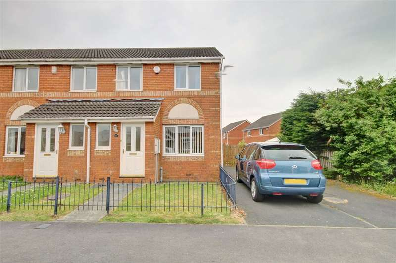 3 Bedrooms End Of Terrace House for sale in Habgood Drive, Gilesgate, Durham, DH1