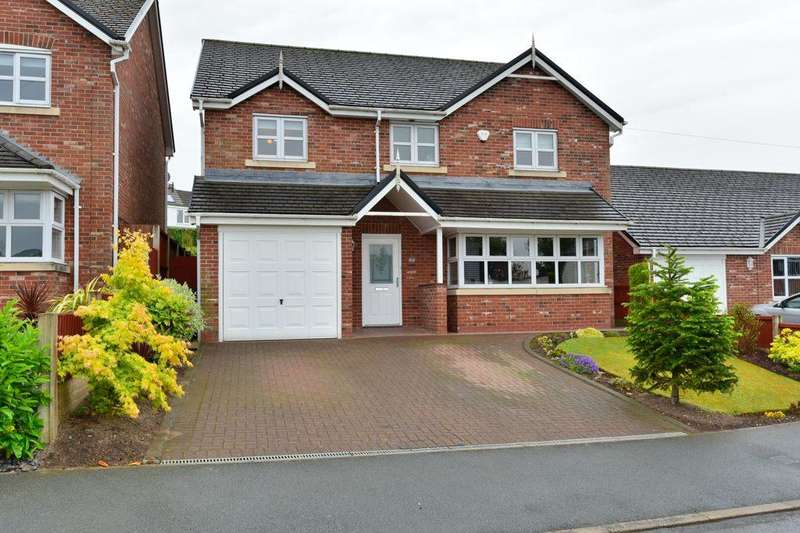4 Bedrooms Detached House for sale in Poleacre Lane, Woodley, Stockport, SK6 1PH