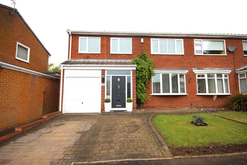 4 Bedrooms Semi Detached House for sale in Murrayfield Drive, Brandon, Durham