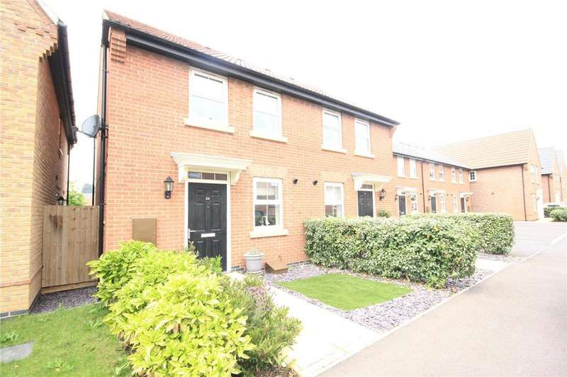 2 Bedrooms Semi Detached House for sale in Selemba Way, Greylees, Sleaford, Lincolnshire, NG34