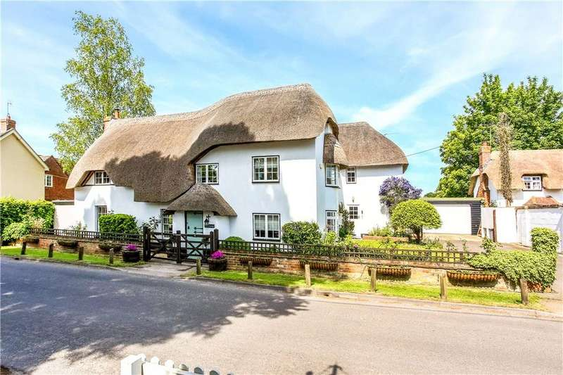 4 Bedrooms Detached House for sale in Longparish, Andover, Hampshire, SP11
