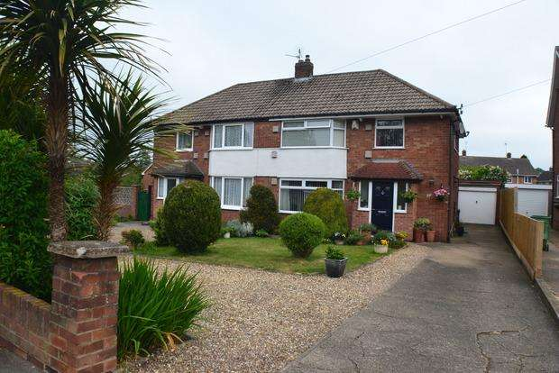 3 Bedrooms Semi Detached House for sale in Cleveland Road, Wigston, LE18
