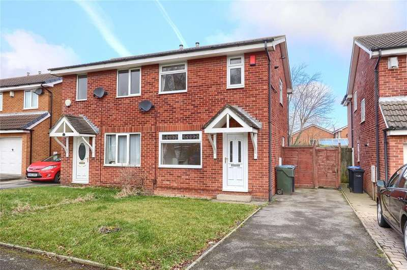 2 Bedrooms Semi Detached House for sale in Coulby Manor Farm, Coulby Newham