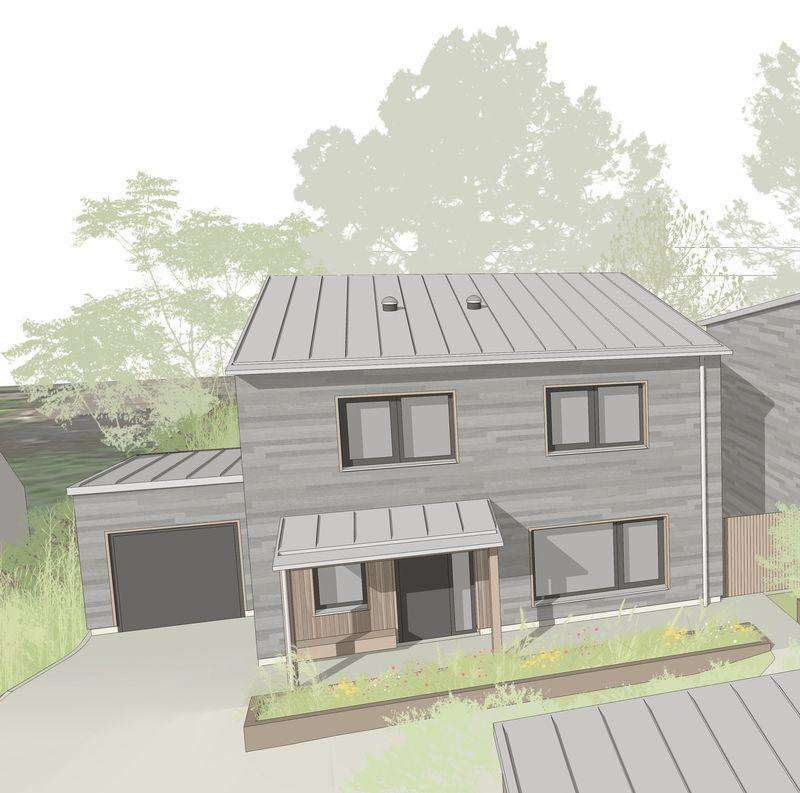 3 Bedrooms Land Commercial for sale in Building Plot for 3 Bedroom Detached Passivhaus - Farnham Common