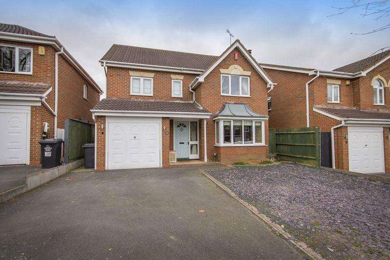 4 Bedrooms Detached House for sale in WREN WAY, MICKLEOVER