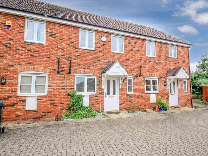 2 Bedrooms Terraced House for sale in Princess Close, Flitwick, MK45