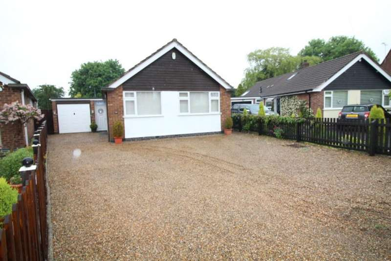 3 Bedrooms Detached Bungalow for sale in Ulverscroft Road, Loughborough