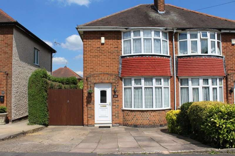2 Bedrooms Semi Detached House for sale in Tuckers Road, Loughborough