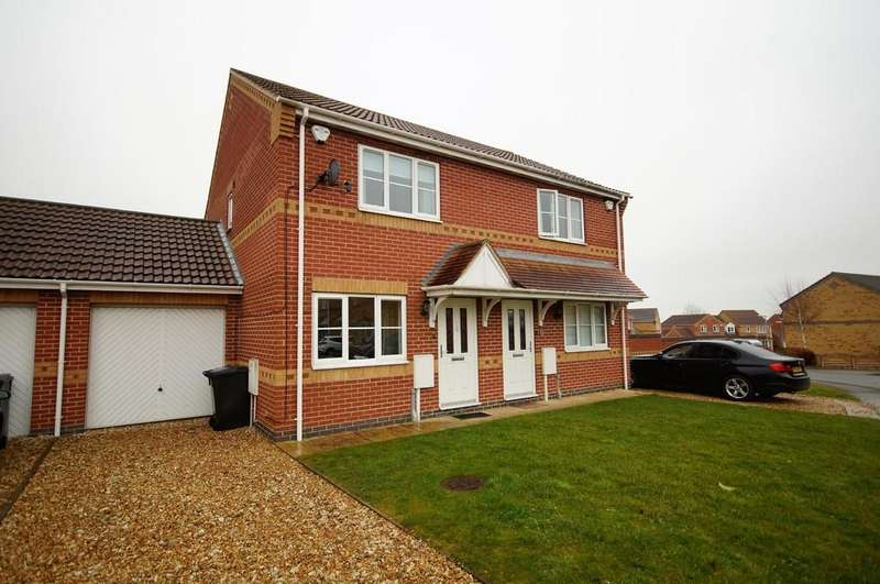 2 Bedrooms Semi Detached House for sale in Rosedale Close, Cherry Willingham