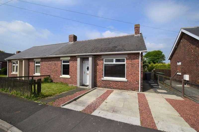 2 Bedrooms Semi Detached Bungalow for sale in Alder Crescent, White-le-Head, Stanley