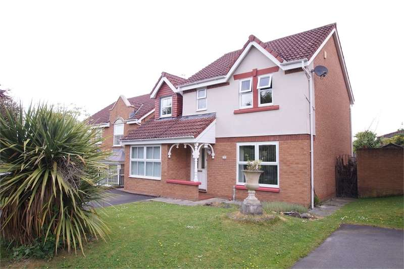4 Bedrooms Detached House for sale in CA1 3TG Border Close, Carleton Grange, CARLISLE, Cumbria
