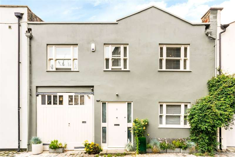 4 Bedrooms Mews House for sale in Albert Terrace Mews, Primrose Hill, London, NW1