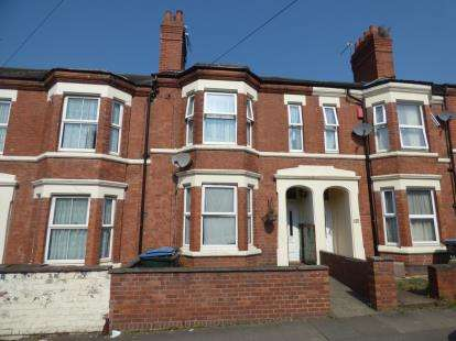 4 Bedrooms Terraced House for sale in Northumberland Road, Coventry, West Midlands