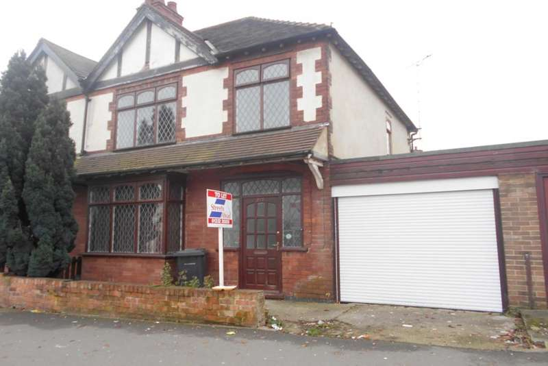 3 Bedrooms Semi Detached House for sale in Uttoxeter New Road, City Centre, Derby