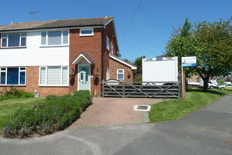 3 Bedrooms Semi Detached House for sale in Green End Close, Spencers Wood, Reading, RG7 1EH
