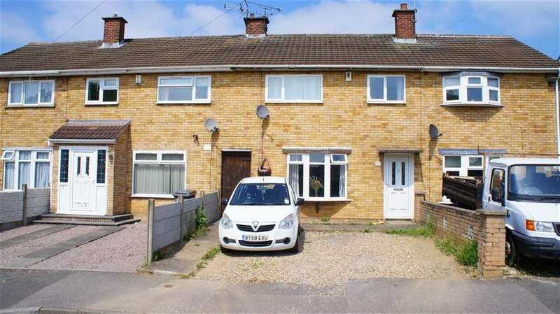3 Bedrooms Terraced House for sale in Stornaway Road, Thurnby Lodge