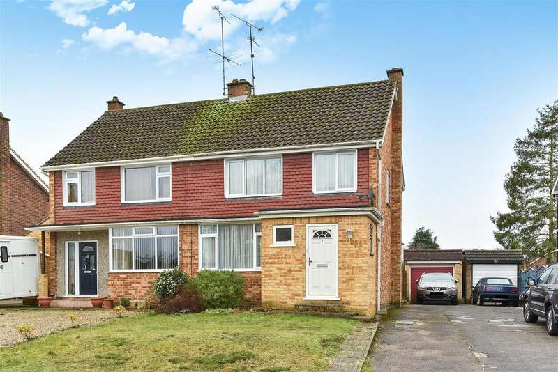3 Bedrooms Semi Detached House for sale in Purcell Road, Crowthorne, Berkshire RG45 6QN