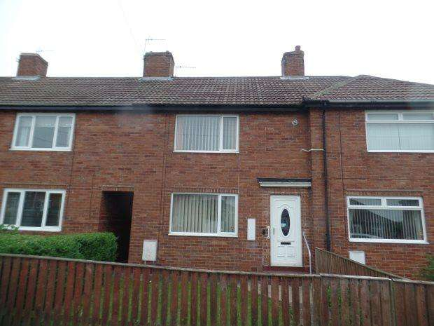2 Bedrooms Terraced House for sale in HAWTHORN TERRACE, SHOTTON, PETERLEE AREA VILLAGES