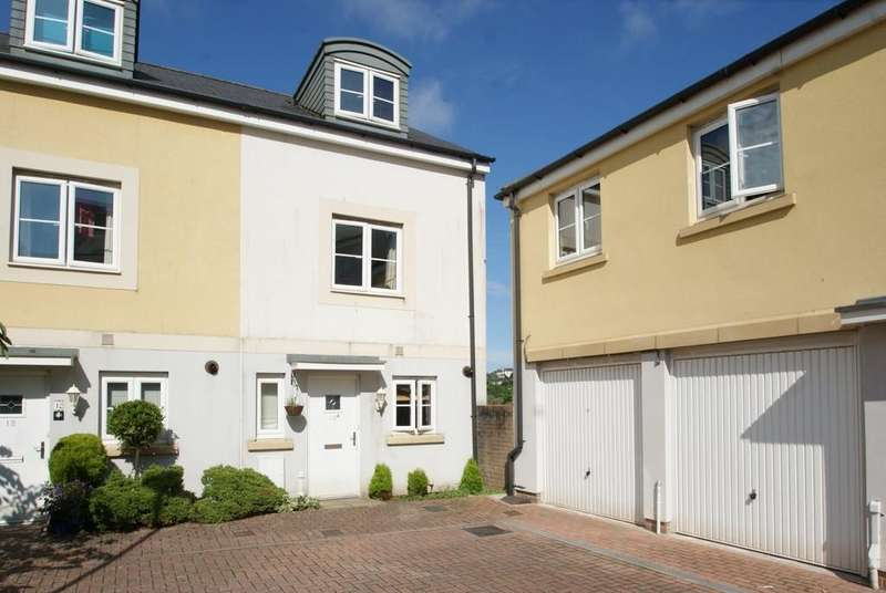 3 Bedrooms End Of Terrace House for sale in Maxwell Court   Mckay Avenue   TQ1 4FJ