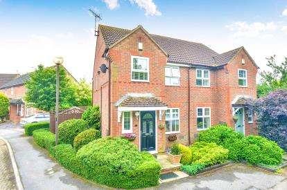 3 Bedrooms Semi Detached House for sale in Long Ayres, Caldecotte, Milton Keynes, Buckinghamshire