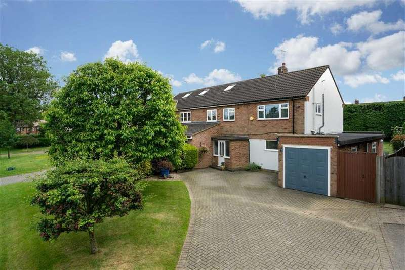 3 Bedrooms Semi Detached House for sale in Sandpit Lane, St Albans, Hertfordshire