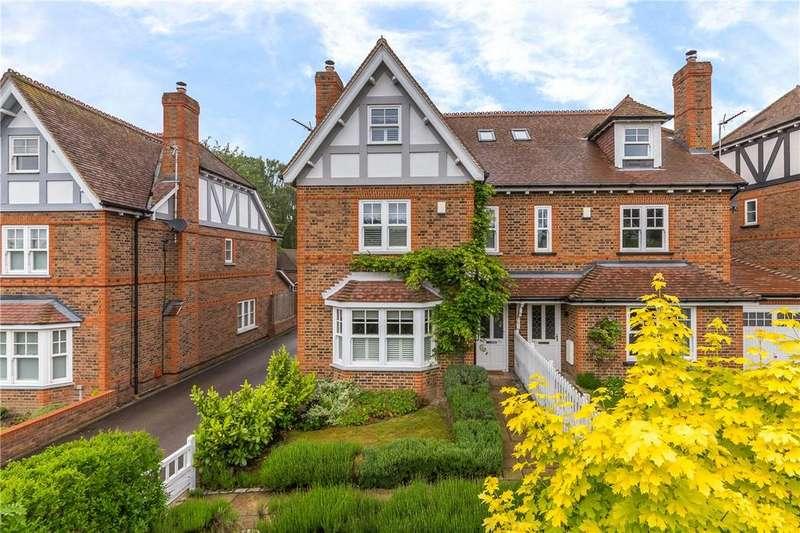 5 Bedrooms Semi Detached House for sale in Crabtree Lane, Harpenden, Hertfordshire