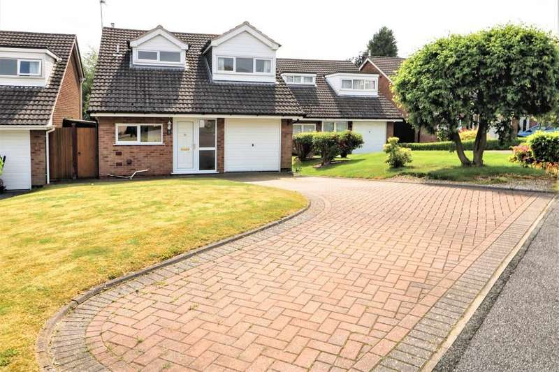 3 Bedrooms Detached House for sale in Uppingham Drive, Ashby-de-la-Zouch