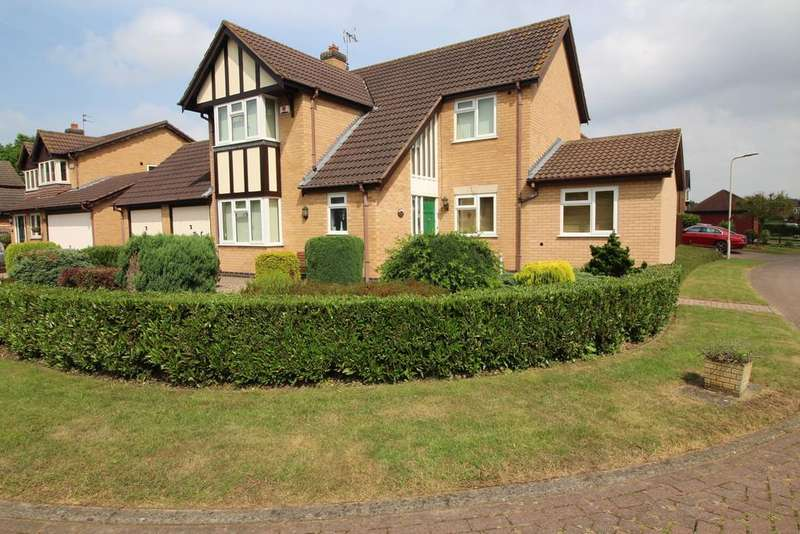 4 Bedrooms Detached House for sale in Kingswood Avenue, Loughborough