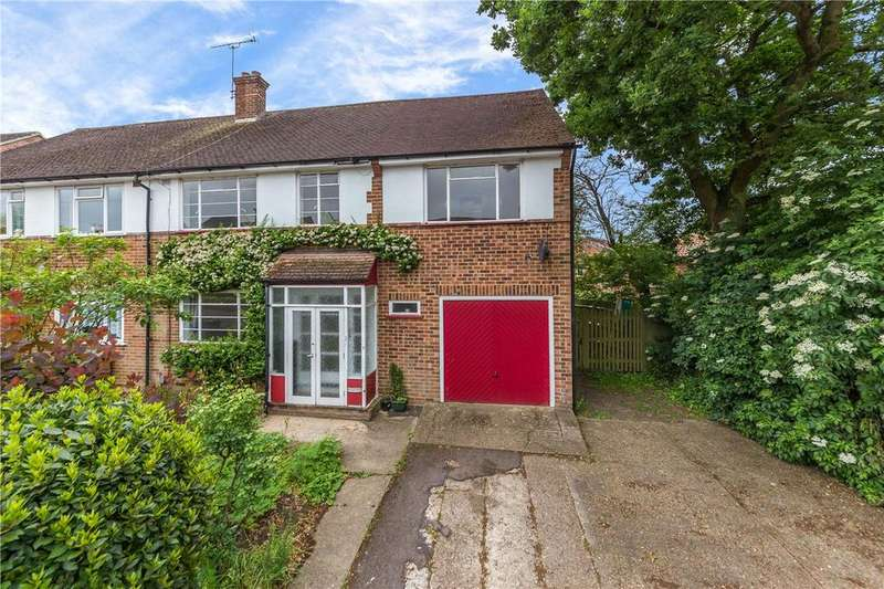 5 Bedrooms Semi Detached House for sale in Downes Road, St. Albans, Hertfordshire