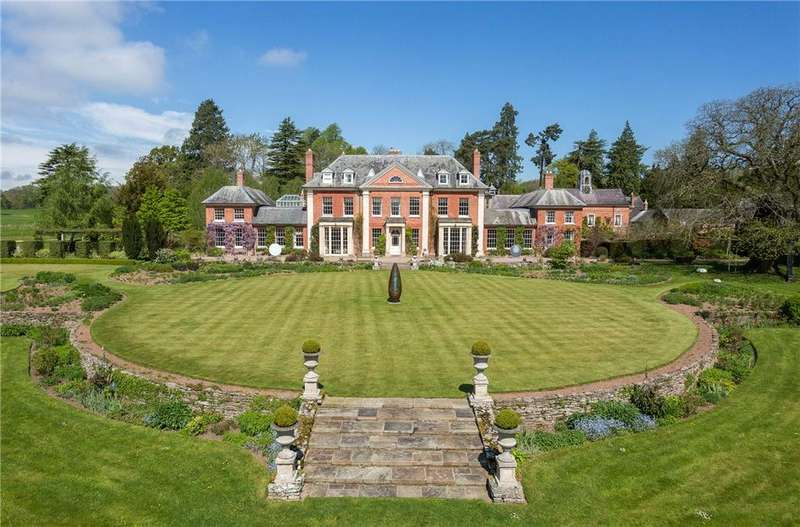 10 Bedrooms Country House Character Property for sale in Almeley, Hereford, HR3