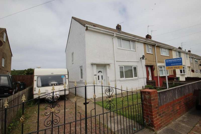 2 Bedrooms End Of Terrace House for sale in Ridlington Way, King Oswy, Hartlepool