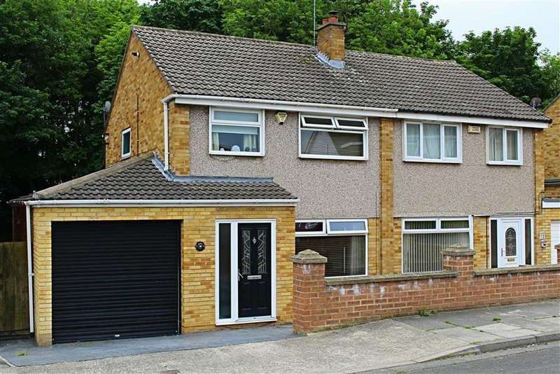 3 Bedrooms Semi Detached House for sale in Aldwych Close, Normanby